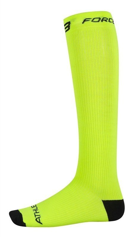 Skarpety kompresyjne FORCE ATHLETIC fluo